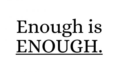 Enough is enough – No more tolerance for Abuse