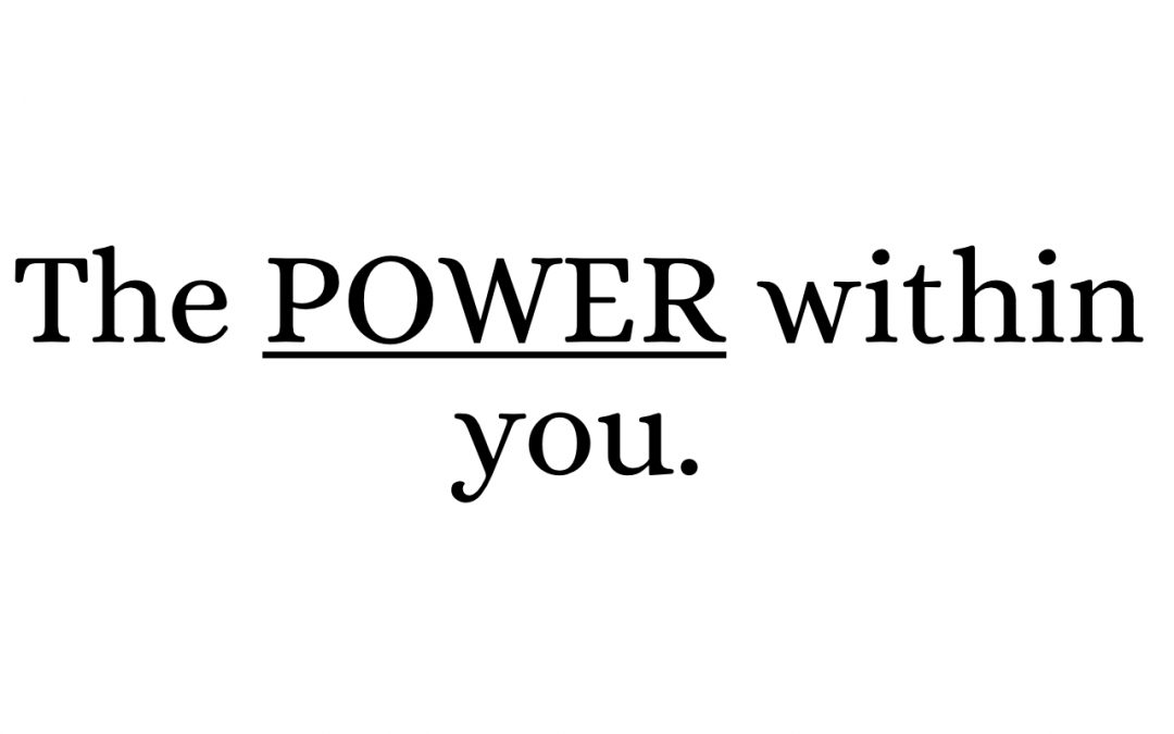 The Power Within You will be the source to End GBV (Keynote)